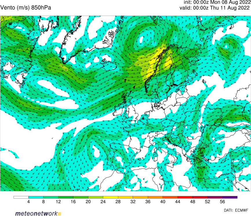 850 hPa + MSLP