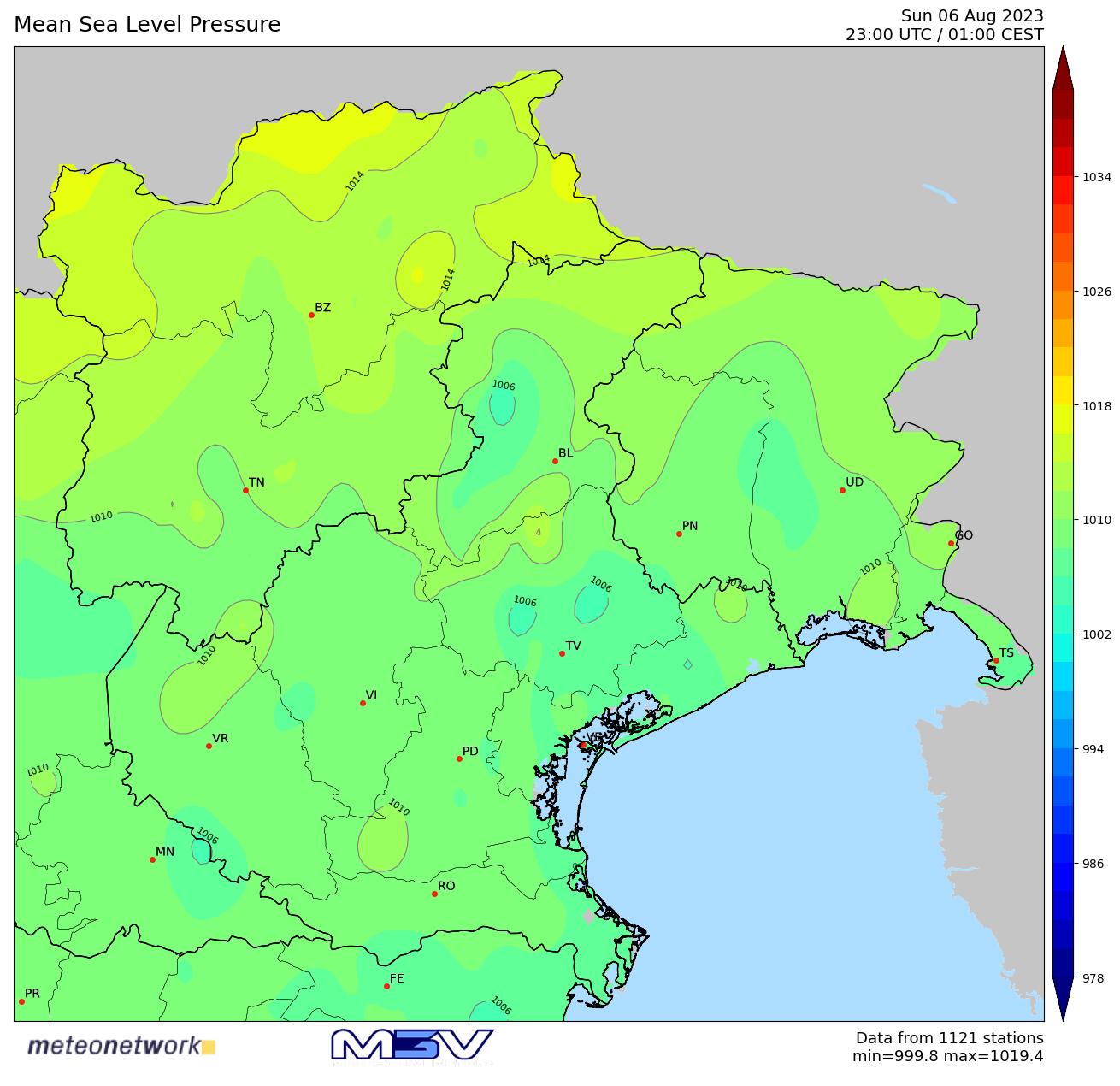 Mappa Pressione